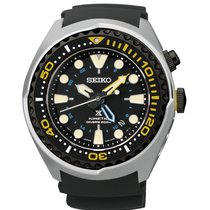 Seiko Prospex Kinetic GMT Diver Neu new