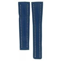 Μπρέιτλιγνκ  (Breitling) Blue Leather Strap For Deployment...