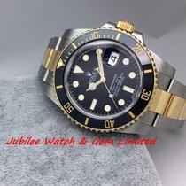 勞力士 (Rolex) Rolex 116613LN Black dial Submariner Gold &...