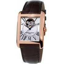 Frederique Constant CARREE HEARTBEAT BROWN AUTOMATIC WATCH...