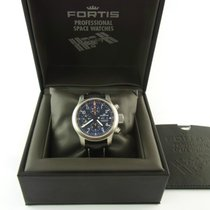 Fortis Chronograph B-42 Stahl Steel Ref 635.22.141 Full Set...