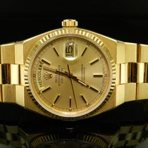Rolex Day Date Oyster Quartz Ref. 19018 Oro Giallo