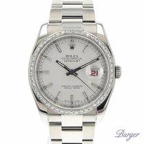 Rolex Datejust 36 Oyster White Diamonds