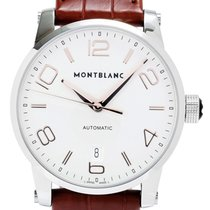 Montblanc Timewalker Collection BRN Leather Automatic Men...