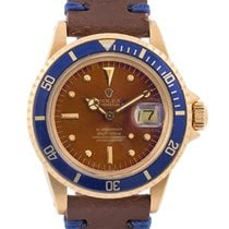 Rolex Submariner Date Vintage Tropical Dial In Oro Giallo 18kt...