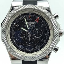 Breitling For Bentley Gmt Chronograph A47362 Black Dial...