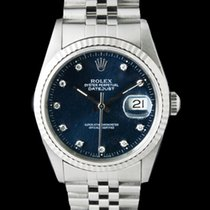 Rolex 16234 Datejust  Blue