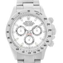 Rolex Cosmograph Daytona White Dial Chronograph Steel Watch...