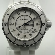 Chanel J12 WHITE DIAMONDS DIAL 38MM AUTOMATIC