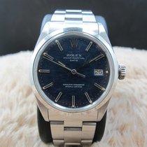 Rolex OYSTER DATE 1500 Original Blue Texture Dial