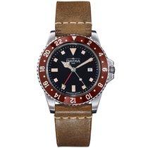 Davosa Swiss Quartz Vintage Diver 16250065 Men Wrist Watch...