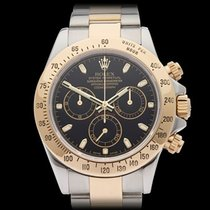 Rolex Daytona Stainless Steel & 18k Yellow Gold Gents 116523