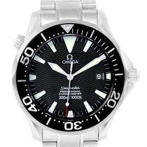 Omega Seamaster Professional 300m Black Wave Dial Watch...