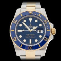 Rolex Submariner Stainless Steel & 18k Yellow Gold Gents...