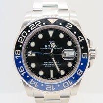 ロレックス (Rolex) GMT-Master II Batman Black/Blue Bezel