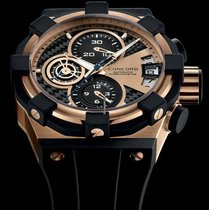 Concord C1 rose gold chronograph