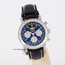 Breitling Navitimer B-01 black dial unworn box and german papers
