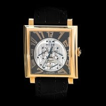 Milus Herios 18K Rose Gold Tri Retrograde Seconds
