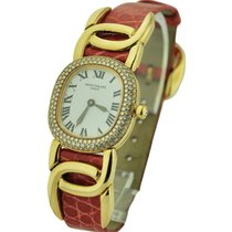 Patek Philippe 4830J Ladys Golden Ellipse with Diamond Bezel -...