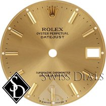 Rolex Datejust Champagne Stick Marker Dial T Swiss Made T...
