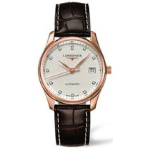 Longines Master Collection Pink Gold Diamond Watch
