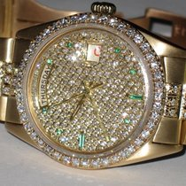 Rolex Day-Date President 18K Solid Yellow Gold Diamonds