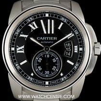 Cartier Stainless Steel Calibre De Cartier Gents Wristwatch...