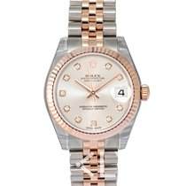 Rolex Datejust Lady 31 Ivory/Everose gold G 31mm - 178271