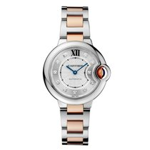 Cartier Ballon Bleu Automatic Ladies Watch Ref WE902061
