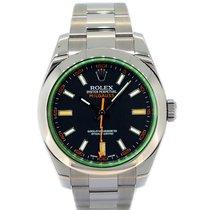 Rolex Milgauss Green Glass 116400GV