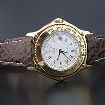 Ebel Voyager Automatic World Time GMT Massiv 18K Gold