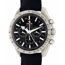 Omega Speedmaster Broad Arrow Co Axial Gmt 3881.50 Steel, 44mm