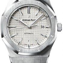 Audemars Piguet Royal Oak Jumbo 41mm White Dial - 15400st