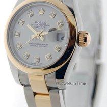 Rolex Datejust 179163 Womens 18K Yellow Gold/Steel Watch...