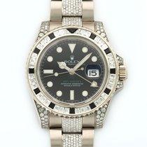 롤렉스 (Rolex) GMT-Master II 18K Solid White Gold Automatic Diamonds