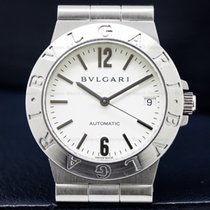 Bulgari LC 35 S Diagono Automatic White Dial SS Ladies (24361)