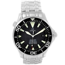 Omega Seamaster 41mm Black Wave Dial Automatic Mens Watch...