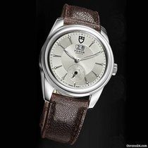Tudor Glamour Double Date 42 Mm Automatic Brown Leather Strap