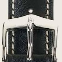 Hirsch Uhrenarmband Heavy Calf schwarz L 01475050-2-18 18mm