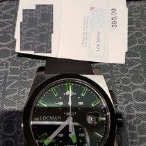 Locman STEALTH Quartz Chronograph  0202BKBKFGK1GOK Titanium