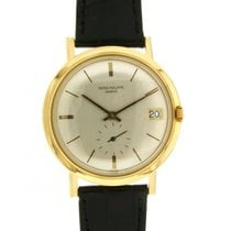 Patek Philippe Rarely 3541 Yellow Gold, Leather, 36mm