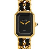 Chanel Première taille M en plaqué or Ref : Premiére Vers 1990