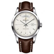 Breitling A4531012/G751 437X Transocean Day-Date Series and...