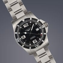 Longines Hydro Conquest steel automatic watch