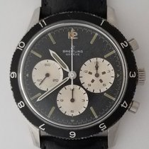 "Breitling 765 CP Co Pilot ""Jean-Claude Killy""  Black Bezel"