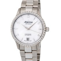 Alpina Comtesse Diamond Automatic Ladies Watch – AL-525APW3CD6B