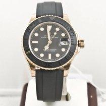 롤렉스 (Rolex) Yacht-Master 268655 37mm Rose Gold Watch Box &...
