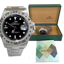 Rolex Oyster Perpetual Date Explorer II 2 Stainless Steel...