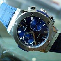 Hublot Blue Chronograph Classic Fusion Titanium - 521.NX.7170.LR