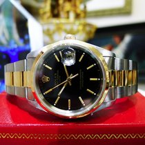 Rolex Oyster Perpetual Date 34mm Ref: 15203 Steel & Gold...